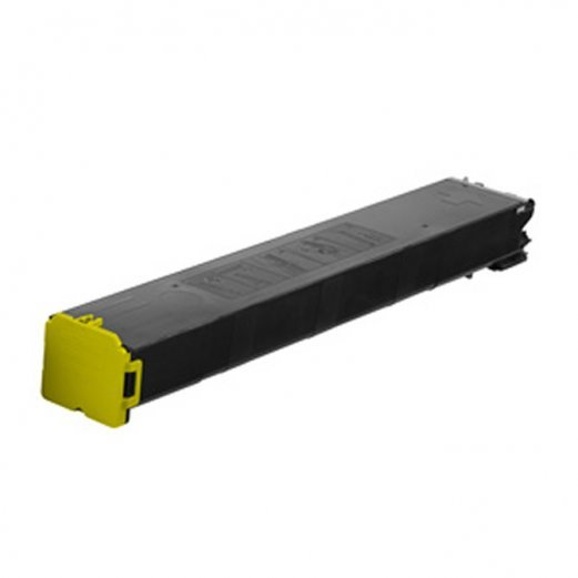 Cartouche Sharp MX-60NTYA (Jaune) Compatible