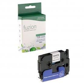 Ruban P-Touch TZE-221 9mm (Noir sur Blanc) Compatible
