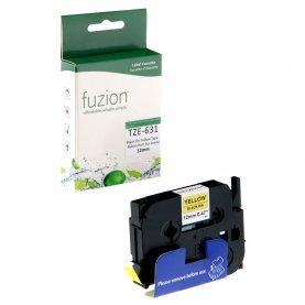 Ruban P-Touch TZE-631 12mm (Noir sur Jaune) Compatible