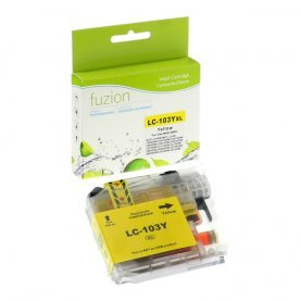 Cartouche Brother LC-103Y (Jaune) Compatible