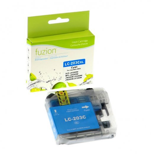 Cartouche Brother LC-203C (Cyan) Compatible