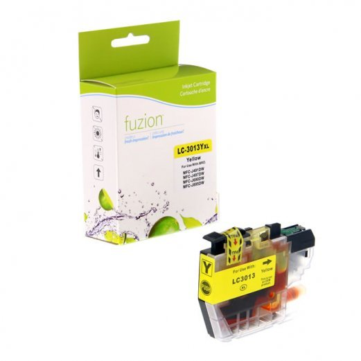 Cartouche Brother LC-3013Y (Jaune) Compatible