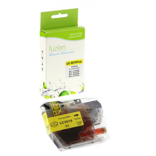 Cartouche Brother LC-3019Y (Jaune) Compatible