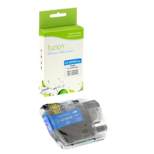 Cartouche Brother LC-3029C (Cyan) Compatible