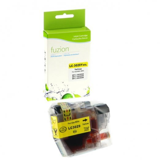 Cartouche Brother LC-3029Y (Jaune) Compatible